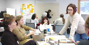 Strenthening Your Facilitation Skills participants